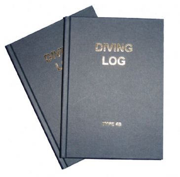 PDC 10 BOOK LOGBOOK DIVING <BR> TYPE 4B